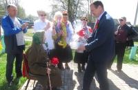 Жители Михайловского отметили День Победы